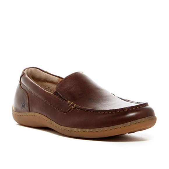 e287a791e7d Born Other - Mens Born Eberhard Slip On Leather Loafer Shoe
